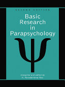 Basic Research in Parapsychology  2d ed