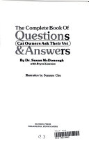 The Complete Book of Questions   Answers Cat Owners Ask Their Vet