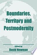 Boundaries  Territory and Postmodernity