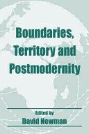 Boundaries, Territory and Postmodernity ebook