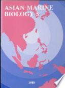 Asian Marine Biology 1988 Book