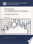 Economics For Health Sector Analysis Book PDF