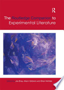 The Routledge Companion to Experimental Literature