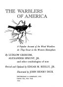 The Warblers of America Book PDF