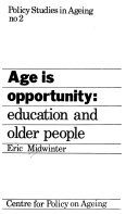 Age is Opportunity