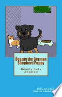 Beauty the German Shepherd Puppy