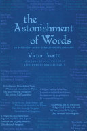 Pdf The Astonishment of Words Telecharger