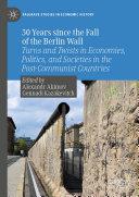 30 Years since the Fall of the Berlin Wall [Pdf/ePub] eBook