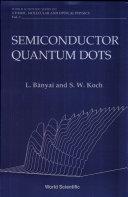 Semiconductor Quantum Dots