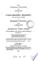 The Increase, Influence, and Stability of Unestablished Religion