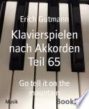 Klavierspielen nach Akkorden Teil 65