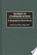 Women in Communication Book