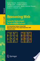 Reasoning Web Semantic Technologies For Information Systems Book PDF