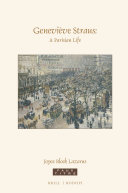 Geneviève Straus: A Parisian Life