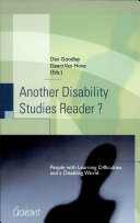 Another Disability Studies Reader?