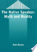 """""""The Native Speaker: Myth and Reality"""" by Alan Davies"""