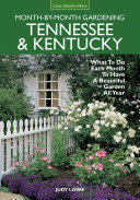 Tennessee & Kentucky Month-by-Month Gardening