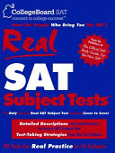 Real SAT Subject Tests