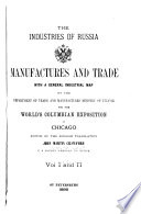 The Industries of Russia Book