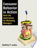 """""""Consumer Behavior in Action"""" by Geoffrey P. Lantos"""