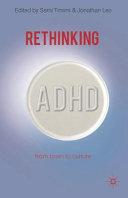 Rethinking ADHD