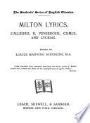 Milton Lyrics