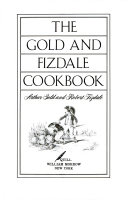 The Gold and Fizdale Cookbook Book PDF