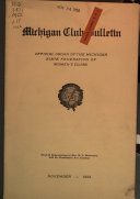 Michigan Federation Forum Book PDF