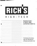 Rich's High-tech Business Guide to Silicon Valley and ...