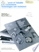 New Sources of Valuable U.S. Government Technologies and Assistance