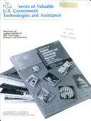 New Sources of Valuable U S  Government Technologies and Assistance