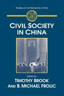 Civil Society in China Pdf/ePub eBook