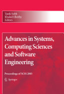 Advances in Systems  Computing Sciences and Software Engineering