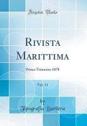 Rivista Marittima, Vol. 11