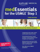 Cover of medEssentials for the USMLE Step 1