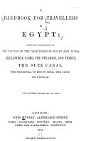 A Handbook for Travellers in Egypt