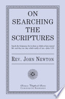 On Searching the Scriptures Book