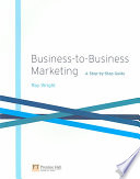 Business to business Marketing Book
