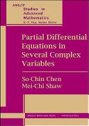Partial Differential Equations in Several Complex Variables [Pdf/ePub] eBook