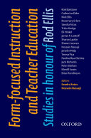 Form Focused Instruction and Teacher Education   Oxford Applied Linguistics