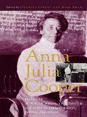 Pdf The Voice of Anna Julia Cooper Telecharger