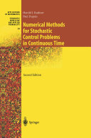 Numerical Methods for Stochastic Control Problems in Continuous Time
