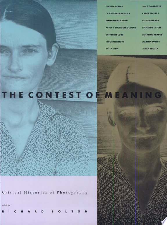 The Contest of Meaning