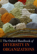 The Oxford Handbook of Diversity in Organizations Book
