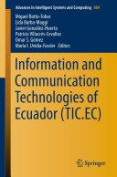 Information and Communication Technologies of Ecuador  TIC EC