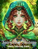 Fairy and Fantasy Adult Coloring Book