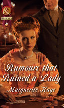 Rumours that Ruined a Lady  Mills   Boon Historical   The Armstrong Sisters  Book 5