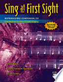 Sing At First Sight Reproducible Companion Cd Book