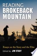 Reading Brokeback Mountain