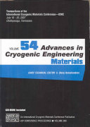 Advances in Cryogenic Engineering Materials Book
